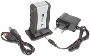 Разветвитель (концентратор) usb на 7 портов (USB - хаб), с внешним питанием