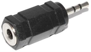 Переходник (адаптер) micro Jack 2.5 мм (папа) mini Jack 3.5 мм (мама)