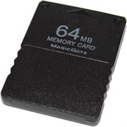 Карта памяти 64 Mb для PlayStation 2 (PS2), Memory Card