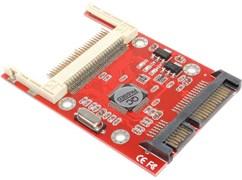 Переходник CF Compact Flash (Type I/II) на SATA