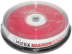 Компакт - диски для записи (болванки), CD-R, 700 Mb, 52x, Mirex, упаковка 10 штук