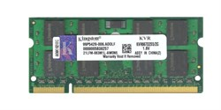 Оперативная память Kingston DDR2, PC2-5300, 2GB, 667MHZ, KVR667D2S5/2G