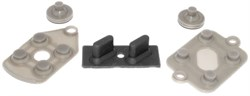 Ремкомплект для джойстика Супер Нинтендо (SNES) (кнопки, резинки)