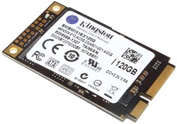 Жёсткий диск SSD mSATA, 120 Gb, Kingston SMSM151S3/120G