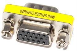 Переходник разъёма VGA - VGA (мама - папа)