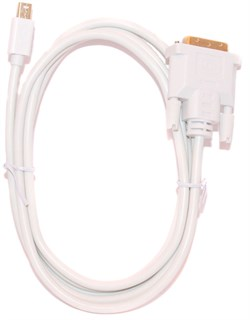 Кабель - переходник с Mini DisplayPort (Mini DP, Thunderbolt) на DVI, 1.8м