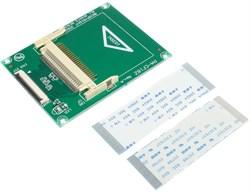 Переходник (адаптер) CF Compact Flash на Toshiba CE ZIF 1.8 дюйма