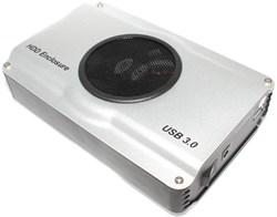 Внешний корпус (бокс) для жёсткого диска, HDD 3.5 SATA, USB 3.0, с блоком питания