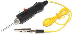 Контролька (тестер, пробник, прозвонка) с пищалкой и индикатором, зажим / щуп