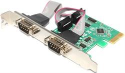 Контроллер (переходник, адаптер) PCI-E - 2 x COM (DB9, RS232)