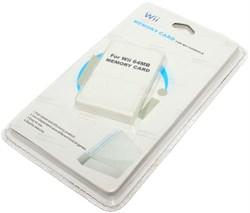 Карта памяти (Memory Card) для Nintendo Wii, 64 Mb