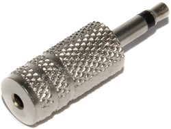 "Переходник Micro Jack 2.5 мм ""мама"" - Mini Jack 3.5 мм ""папа"", моно"