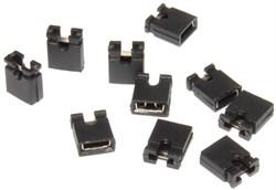 Джампер (перемычка) для электроники (материнских плат, контроллеров), 10 шт