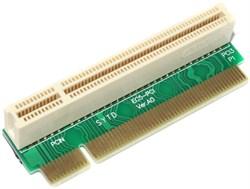 "Переходник угловой (райзер), PCI - PCI (32 bit), правосторонний, 90°, ""мама"" - ""папа"""