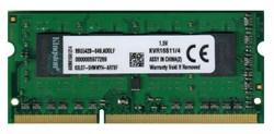 Оперативная память Kingston DDR3, PC3-12800, 1600MHz, 4GB, KVR16S11/4