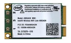 Внутренний модуль WiFi для ноутбука, Intel Wireless WiFi Link 4965AGN MM1