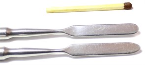 Лопатка металлическая (спуджер) для ремонта телефонов, ноутбуков, планшетов