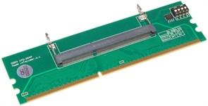Переходник для оперативной памяти DDR3, SODIMM - DIMM, 204 pin - 240 pin