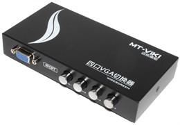 Переключатель VGA - мониторов (коммутатор KVM, сплиттер), 4 порта