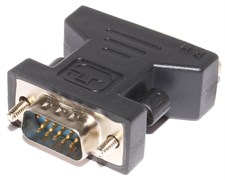 "Переходник (адаптер) VGA (m) ""папа"" - DVI-I (f) ""мама"""