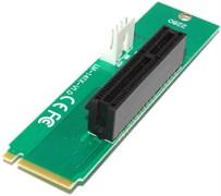 Переходник (адаптер, райзер) с M.2 (NGFF) на PCI-E 1X..4X (размер 2260 или 2280)