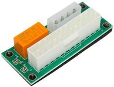 Синхронизатор запуска двух блоков питания ATX (с реле)