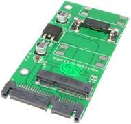 Переходник (адаптер, конвертер) mSATA SSD - 2.5 SATA
