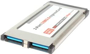 Контроллер ExpressCard USB 3.0, 34mm (NEC) (не выступает из ноутбука)