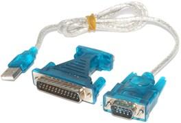 Переходник (кабель) USB - COM / LPT (RS232)