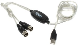 Интерфейс (кабель) USB - MIDI