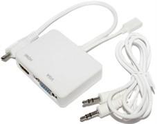 Переходник (кабель - адаптер) с MHL MicroUSB на HDMI / VGA