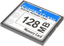 Карта памяти CompactFlash (CF), 128 Mb (0.128 Gb), 133X