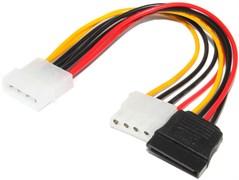 Кабель питания (переходник) Molex IDE 4Pin - SATA / Molex
